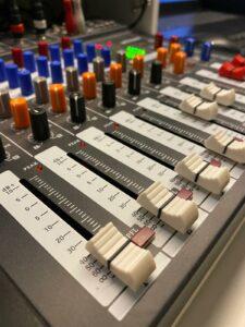 Mischpult Radio Westkapelle